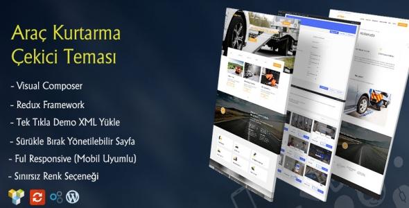 Light WordPress Araç Çekici Teması