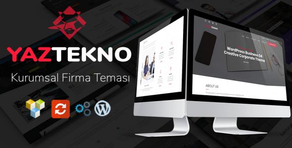 YazTek04 WordPress Kurumsal Firma Teması