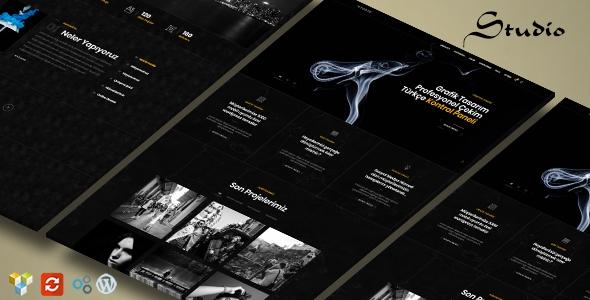 Creative Studio - Ajans, Tasarım Tanıtım Teması