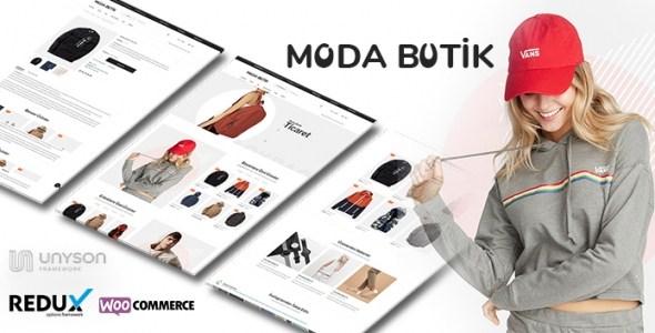 Moda Butik - WordPress E-Ticaret Butik Teması