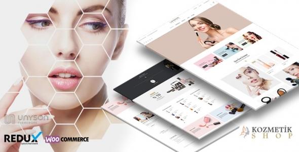 Kozmetik Shop - Kozmetik Ürün Satış Teması