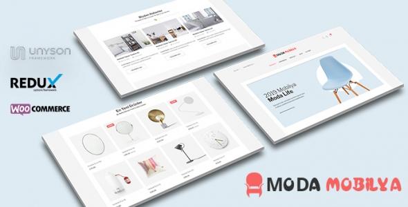 Moda Mobilya - WordPress Mobilya Satış Teması