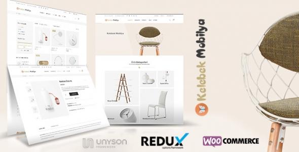 Kelebek Mobilya - WordPress Mobilya Satış Teması