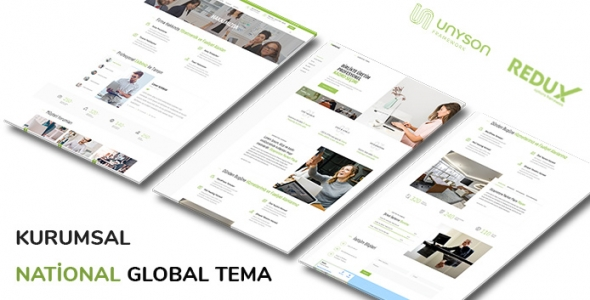 National - WordPress Global Kurumsal Firma Teması