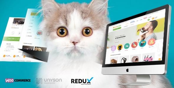Moda PetShop - WordPress PetShop Teması
