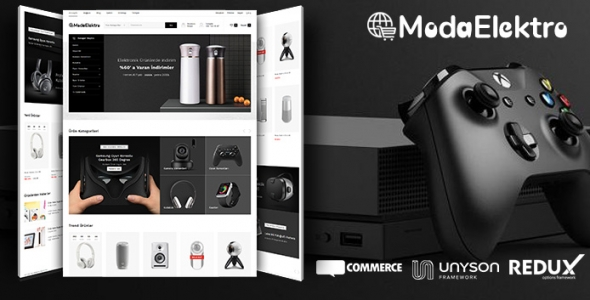 Moda Elektro - WordPress Elektronik Satış Teması