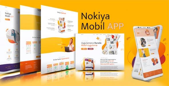 Nokiya - WordPress Mobil App Uygulama Teması