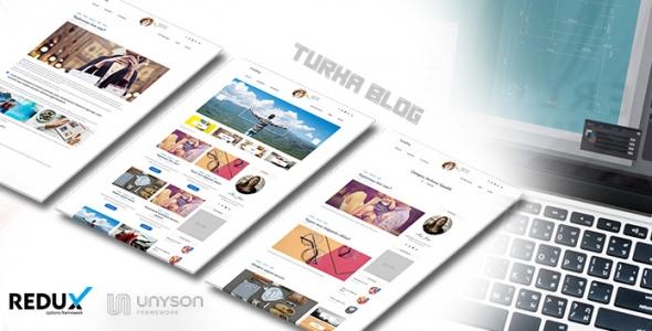 Turka Blog - WordPress Kişisel Blog Teması