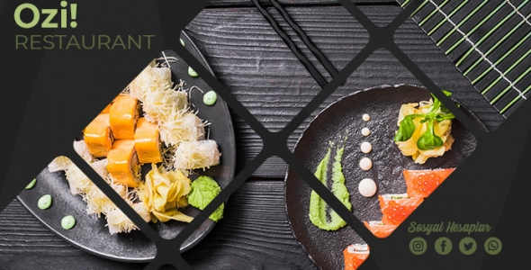 Ozi Restaurant - WordPress Restaurant Teması