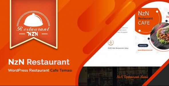 NzN Restaurant - WordPress Restauran Cafe Teması