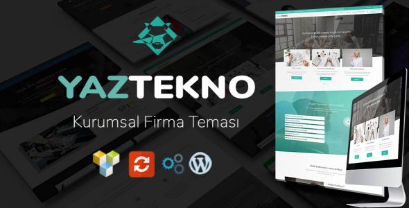 YazTek02 WordPress Kurumsal Firma Teması