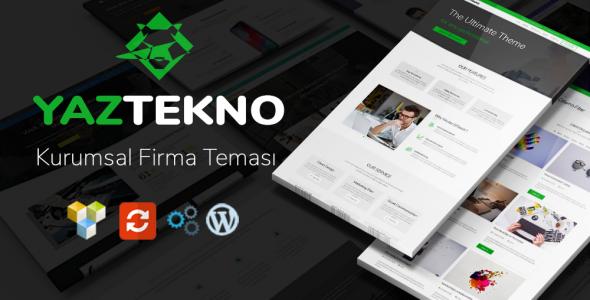 YazTek03 WordPress Kurumsal Firma Teması