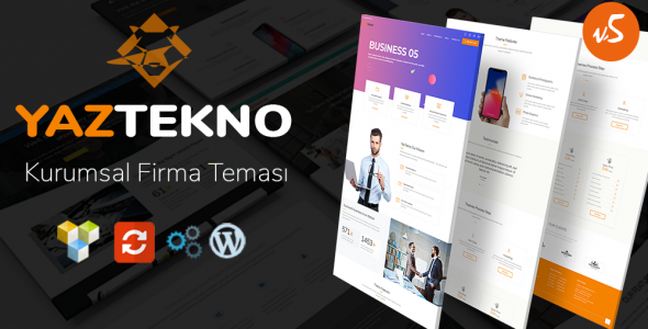 YazTek05 WordPress Kurumsal Firma Teması