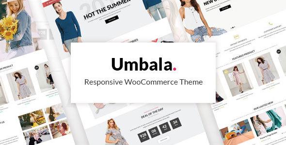 Umbala - Şık Moda Giyim WooCommerce Tema