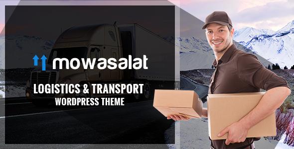 Mowasalat - Lojistik ve Taşımacılık WP Teması