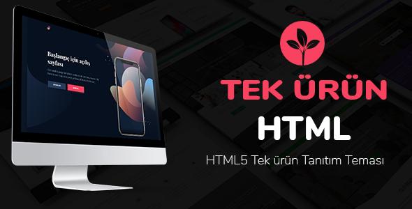 Marmaris - HTML5 Tek Ürün Teması