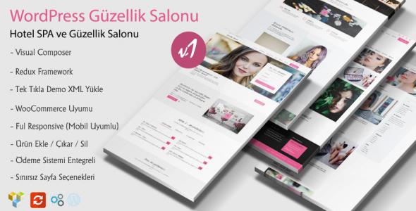 Rose WordPress Güzellik Salonu Teması