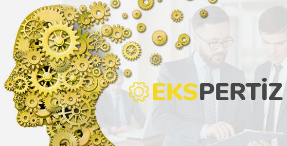 Ekspertiz - WordPress Ekpertiz Uzman Firma Teması