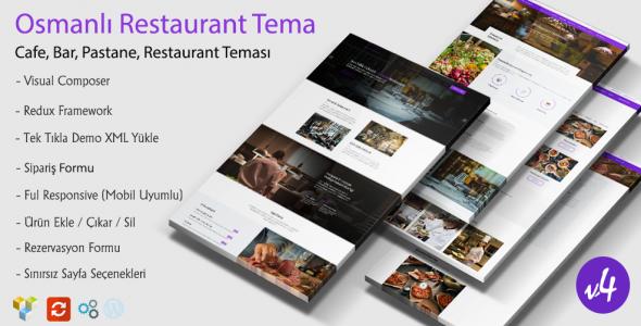 Osmanlı WordPress Restaurant Teması