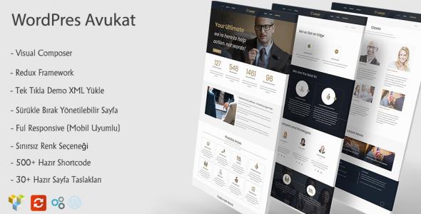 Avukat - WordPress Avukat Teması