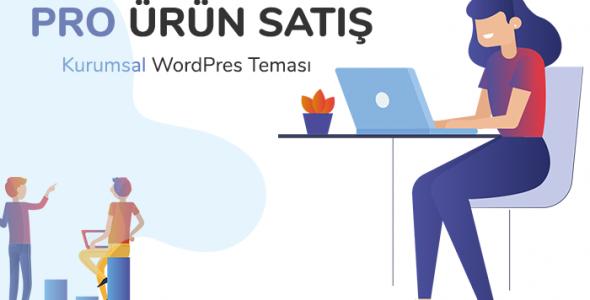 Pro Ürün Satış - WordPress Kurumsal Ürün Tanıtım