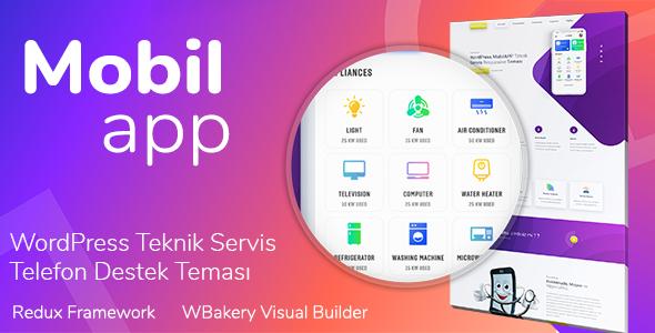 MobilApp - Turka Mobil Teknik Servis Teması
