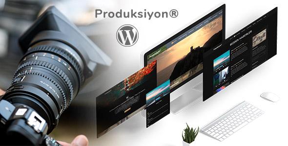 Produksiyon - WordPress Ajans Teması