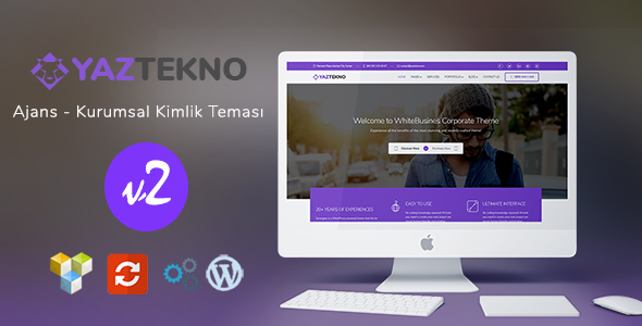 Kurumsal Kimlik - WordPress  Responsive Tema