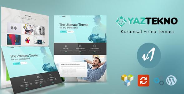 Company 01 - WordPress Kurumsal Firma Temasi