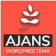 Ajans - Kurumsal Kimlik WordPress Teması